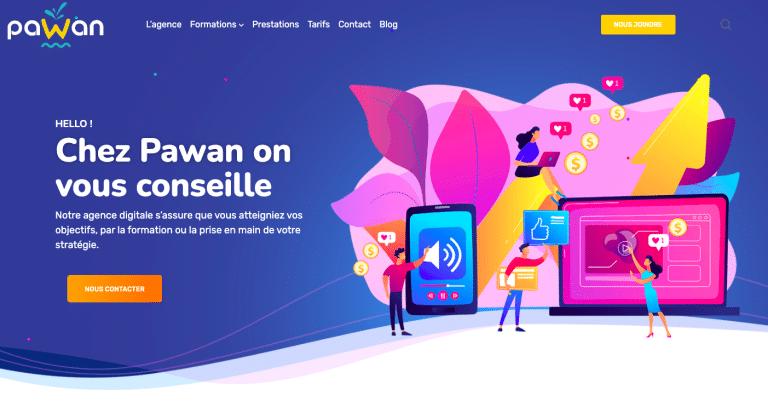 Pawan - agence digitale et social media